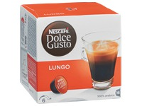 Box of 16 coffee capsules Nescafé Dolce Gusto Lungo