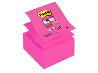 Z-Notes jaunes Post-it 101 x 101 mm - bloc de 90 feuilles fuchsia