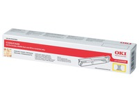 43459329 OKI C3450 TONER YELLOW