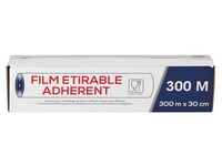 Film étirable transparent 300 m x 30 cm - carton de 6