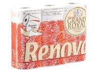 Box of 30 toilet paper rolls Grand Royal Renova 140 sheets