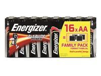 Blister 16 batterijen Energizer Power LR06
