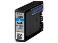 Canon PGI-1500XL C - Hohe Ergiebigkeit - Cyan - Original - Tintenbehälter