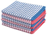 Pack of 6 multicolour towels