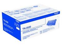 Toner Brother TN3520 hoge capaciteit zwart voor laserprinter