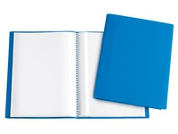 Show album Eco opaque polypropylene A4 30 sleeves blue