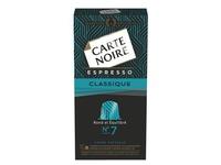 Capsules Carte Noire Classique n°7 - Boite de 10