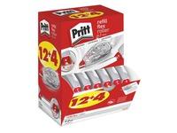 Pack de 12 + 4 correcteurs à sec rechargeables Flex Roller Pritt largeur 4,2 mm - longueur 12 m