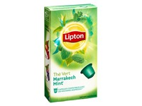 Capsules green tea  Lipton Marrakech mint - Box of 10