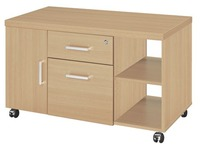 Side desk manager oak Shiny