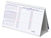 Bureaukalender 2020 Brepols standaard formaat 21 x 12,5 cm