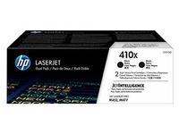HP 410X pack 2 toners hoge capaciteit zwart