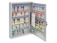 Cabinet for 60 keys closure with key light grey