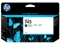 HP 745 - dof zwart - origineel - DesignJet - inktcartridge (F9J99A)