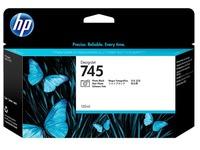 HP 745 - fotozwart - origineel - DesignJet - inktcartridge (F9J98A)