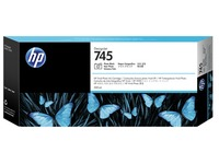 HP 745 - fotozwart - origineel - DesignJet - inktcartridge (F9K04A)
