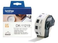 Brother DK-11219 - etiketten - 1200 stuks