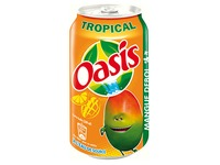 Oasis Tropical cans 33 cl - Box of 24 cans