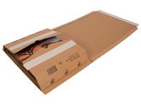 Cleverpack wikkelverpakking uit golfkarton, ft 270 x 330 x 20 / 80, pak van 10 stuks