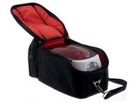 Badgy reistas voor Badgy printer Badgy100 en Badgy200, zwart/rood
