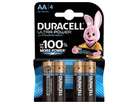 Duracell Ultra Power alkaline batteries.