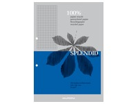 Notepad Splendid recycled paper A4 210 x 297 mm 5 x 5 100 sheets