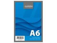 Notepad Aurora A6 105 x 148 mm lined 100 sheets