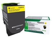 Lexmark 71B20Y0 toner yellow for laser printer
