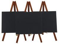 Securit ardoise Mini, ft 24 x 15 cm, acajou, paquet de 3