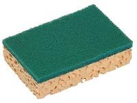 Vegetal scraping sponge Spontex - pack of 10