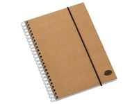 Multo by Jalema notitieboek Kraft ft A5, gelijnd, pak van 2 stuks