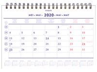 Monthly calendar 2020 Brepols