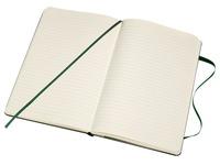 Carnet de notes Moleskine XL 190x250mm ligné vert myrte