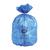 blauwe vuilniszak