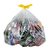 doorzichtige vuilniszak vuilzak met syrop vuilzak met strop plastiek zak stropzak