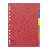 tussenbladen met gekleurde tabs tabbladen met gekleurde tabs